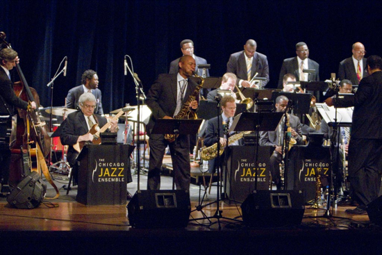 Chicago Jazz Ensemble with Branford Marsalis