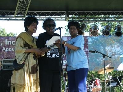 Linda Hall, Geraldine DeHaas & Brenda Phillips