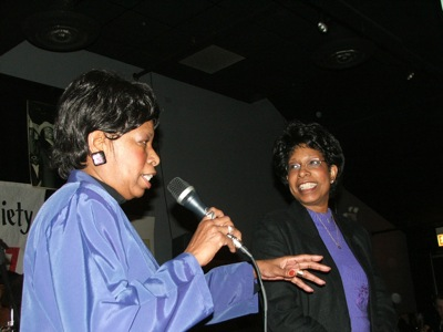 Brenda Phillips & Linda Hall