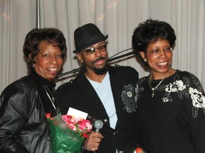 Brenda Philips, Michael Harper & Linda Hall