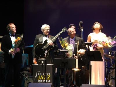Ron Hawking, Frank Dawson, Curtis Fuller & Bobbi Wilsyn
