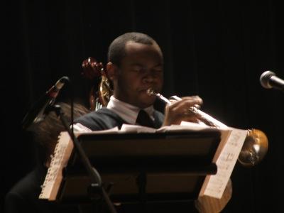 ETHS trumpeter