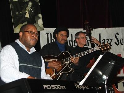 Charley Johnson, Henry Johnson and Stewart Miller