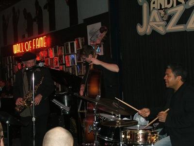Richie Cole, Aaron Mitter & Ernie Adams