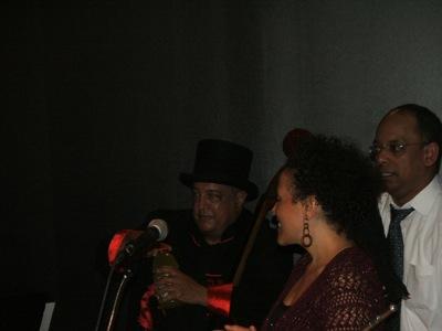 Harrison Bankhead, Nicole Mitchell & Miguel de la Cerna