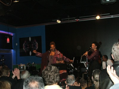 Dee Alexander, Nicole Mitchell & Miguel de la Cerna