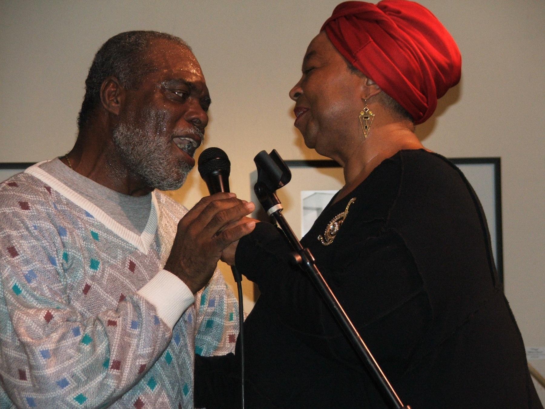 Glen Watts & Sue Conway