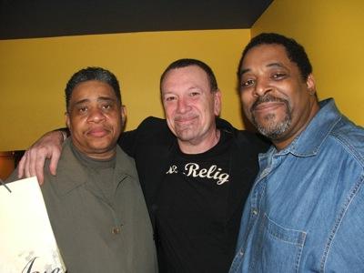 Bernard Crump, Sandy Torano & Percy Wilson