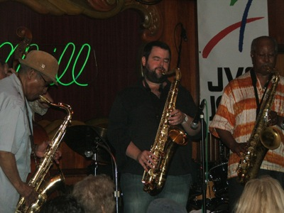 Von Freeman, Frank Catalano, Ari Brown