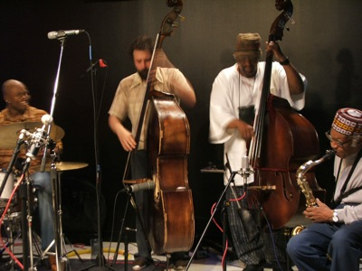Isaiah Spencer, Josh Abrams, William Parker & Fred Anderson