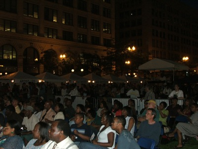 Smooth Jazz Fest crowd