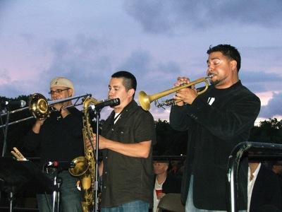 John Rodriguez, Eddie Ramos, Victor Garcia