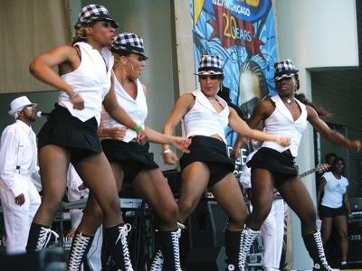 Gap Band Dancers