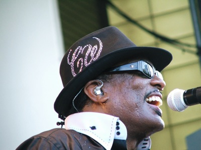 Charlie Wilson of the Gap Band