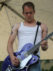 Brent Johnson - Bryan Lee's guitarist