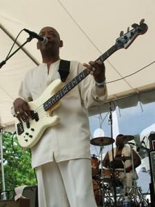 Charles Rogers' bassist
