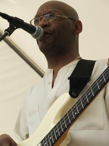 Charlie Roger's bassist