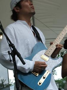 Chick Roger's guitarist
