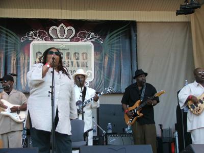 Karen Carroll and band