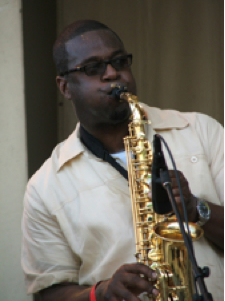 Charie Love saxophonist