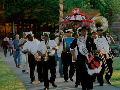 Pin Stripe Brass Band