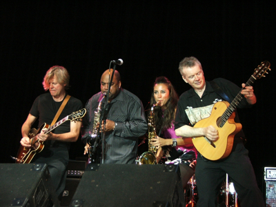 JEFF GOLUB, GERALD ALBright, Jessy J., Peter White