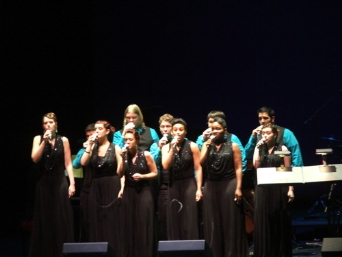 Columbia College Chicago Vocal Jazz Ensemble