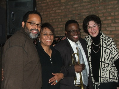 Mark Ingram, Carolyn Albritton, Orbert Davis & Judith Stein