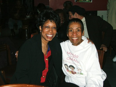 Linda Hall & Mrs. Pickens