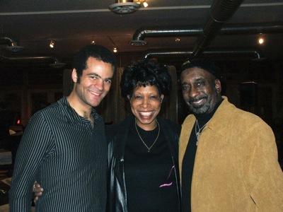 Greg Ward, Linda Phillips and Jdub Walker