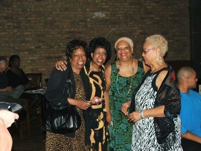 Brenda Phillips, Linda Hall, Deborah and Cynthia Carter