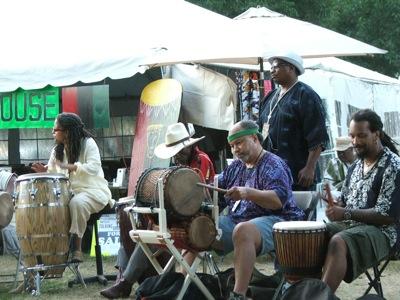 African Drum Village