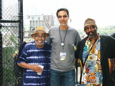 Amiri Baraka, Rahsaan Clark Morris and William Parker