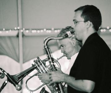 Geof Bradfield and Art Davis