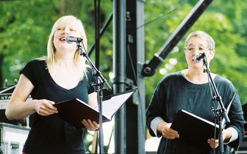 Lindsay Weinberg & Sue Demel