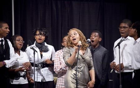 Cassandra Wilson and Choir