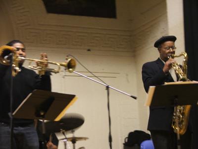 Corey Wilkes & Ari Brown