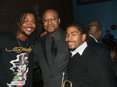 Maurice Brown, Frank Goss & Corey Wilkes