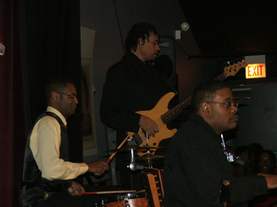 Derek Henderson, Paul Richmond, Roger Weaver