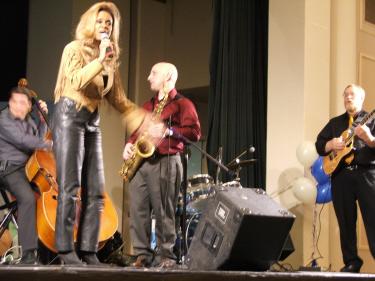 Marshall Vente band & Greta Pope