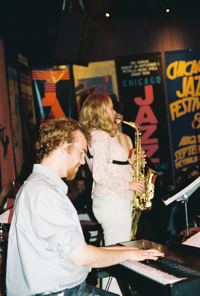 Sean McCluskey, Caroline Davis
