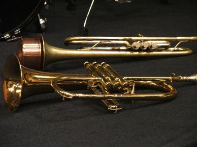 Corey Wilkes trumpets